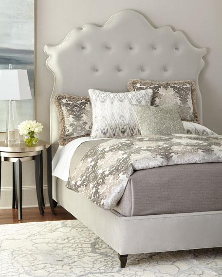 Haute House Arabella Tufted King Bed