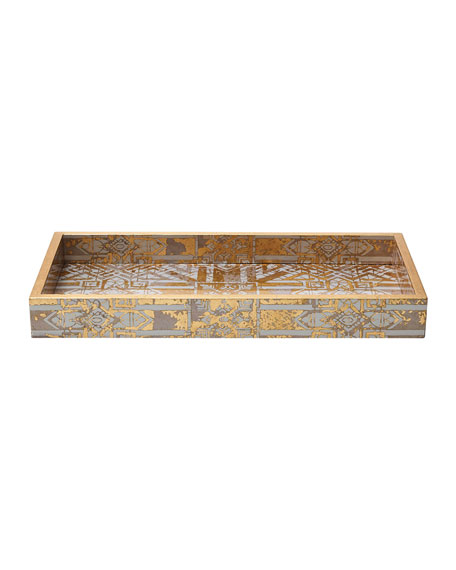 Image 1 of 1: DISTRESSED 145X75 TRAY