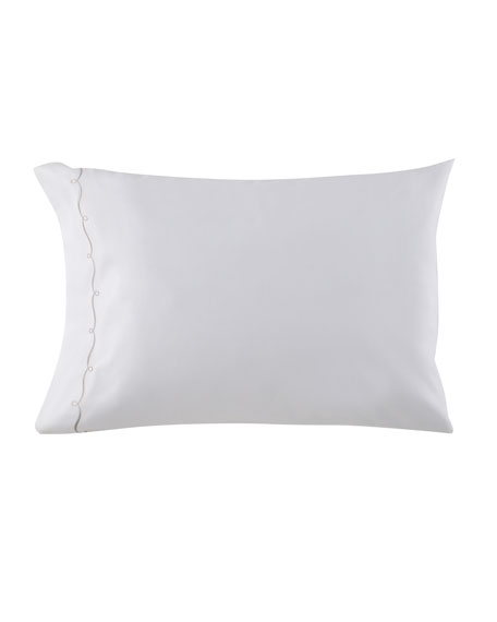 Two Additional Standard Embroidered Hem 200 Thread-Count Pillowcases