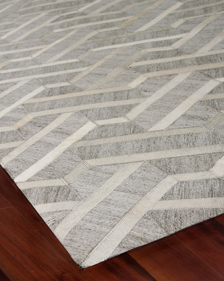 Exquisite Rugs Portia Hairhide Rug