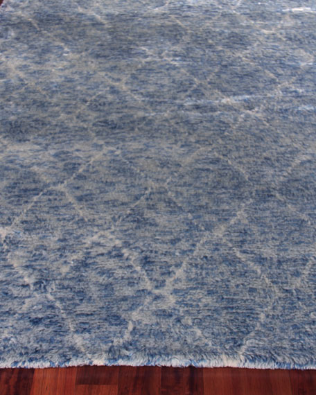 """Exquisite Rugs Nonali Loomed Rug, 9'6"""" x 13'6"""""""