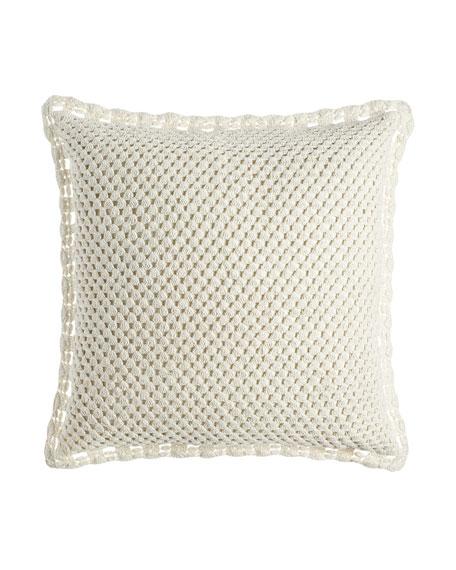 Pine Cone Hill European Corossol Crochet Sham
