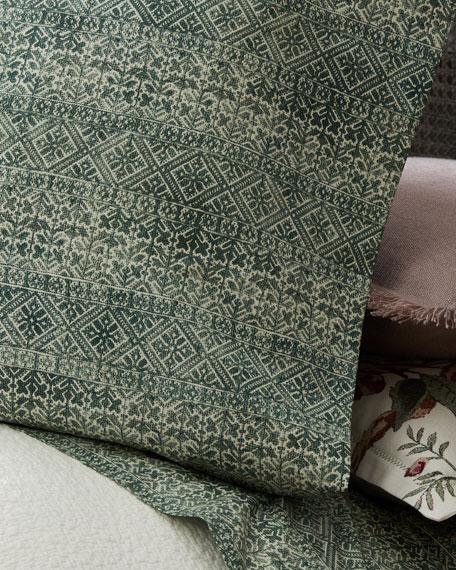 Two Standard Eaton Pillowcases