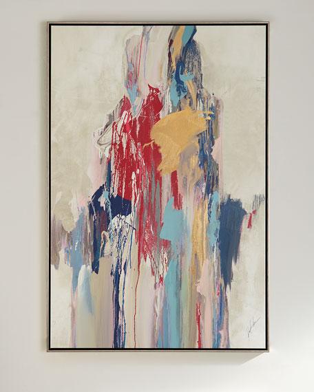 Pink Aura Giclee on Canvas
