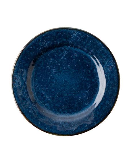 Juliska Puro Dappled Cobalt Side Cocktail Plate
