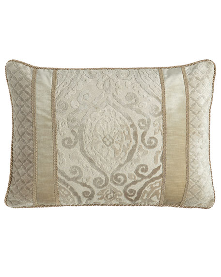Austin Horn Collection Chateau Standard Sham, Oyster