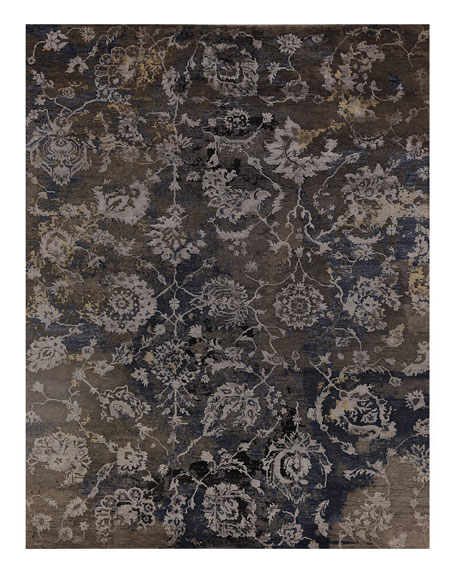 Exquisite Rugs Wassim Hand-Knotted Rug, 9' x 12'