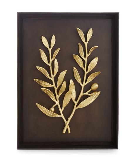 Olive Branch Shadow Box