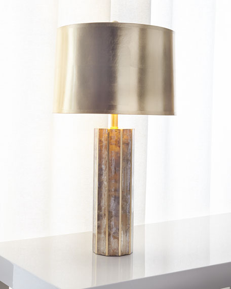 Light Mica Table Lamp