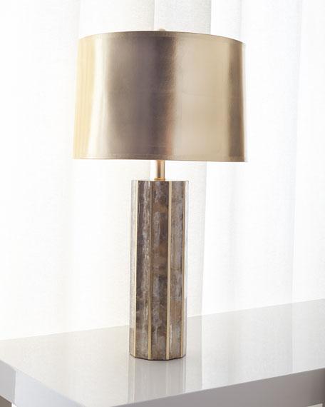Light Mica Table Lamp