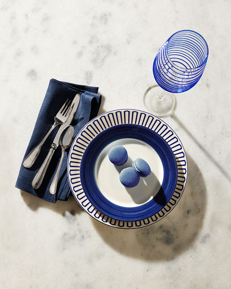 Neiman Marcus Spiral Wine Glasses, Set of 4