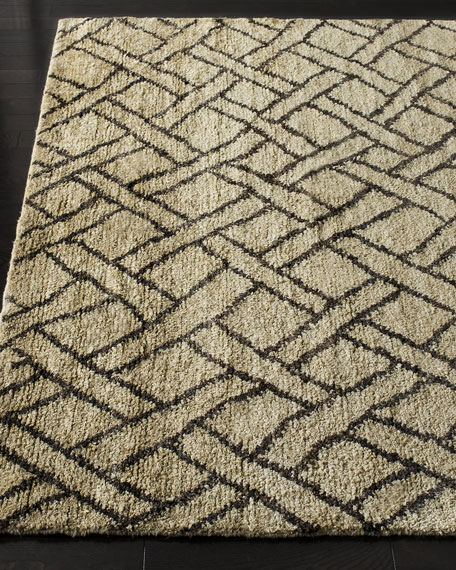 Image 1 of 2: Ralph Lauren Home Fairfield Natural Rug, 4' x 6'