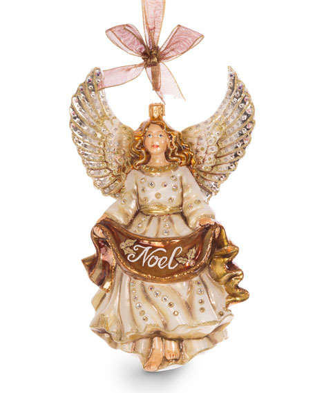 Jay Strongwater Noel Angel Ornament