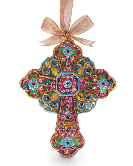 Jay Strongwater Cross Ornament