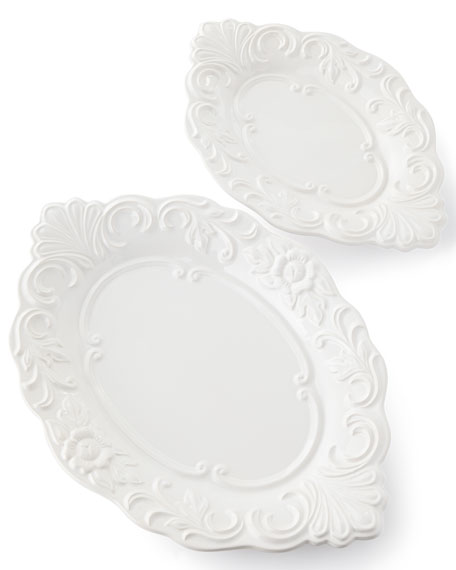 History Platters, Set of 2 and Matching Items