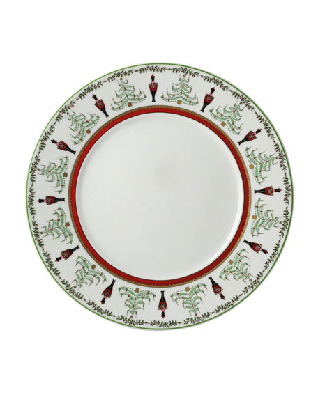 Bernardaud Grenadier Red Stripe Salad Plate