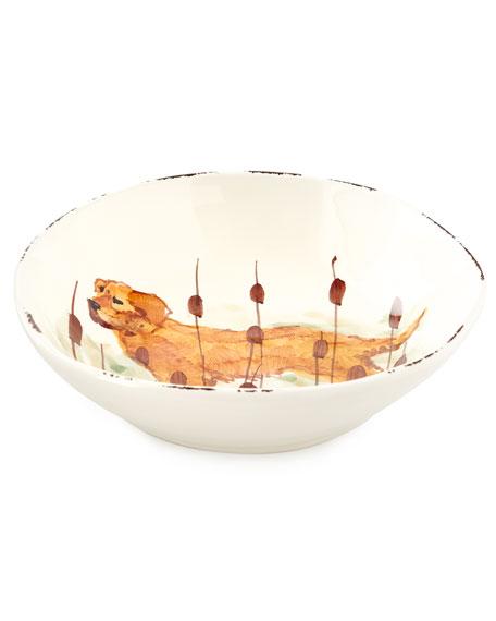 4 Assorted Wildlife Pasta Bowls
