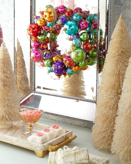 C & F Enterprises Holiday Ball Wreath