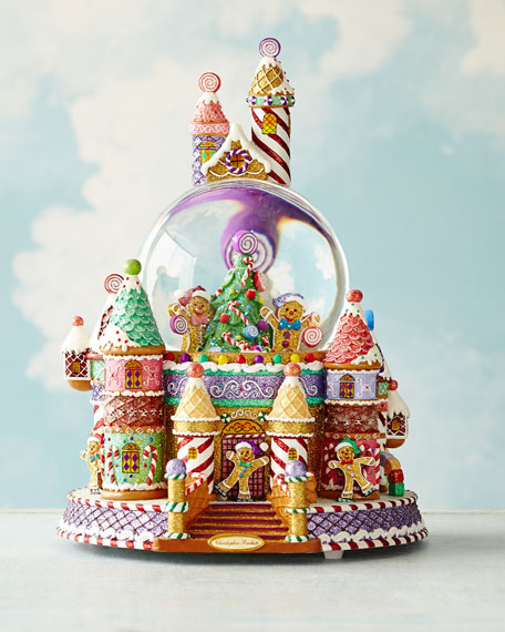 Sweet Village Surprise Snow Globe
