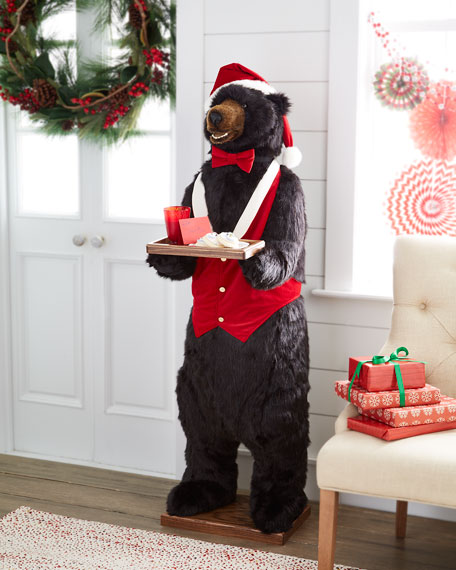 Ditz Designs By The Hen House Christmas Bear