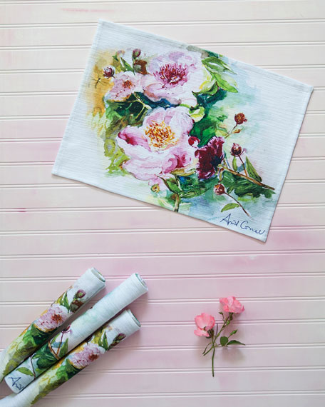 April Cornell Peony Table Linens & Matching Items