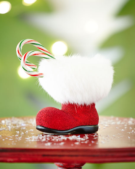 Ino Schaller Red Santa Boot Collectible