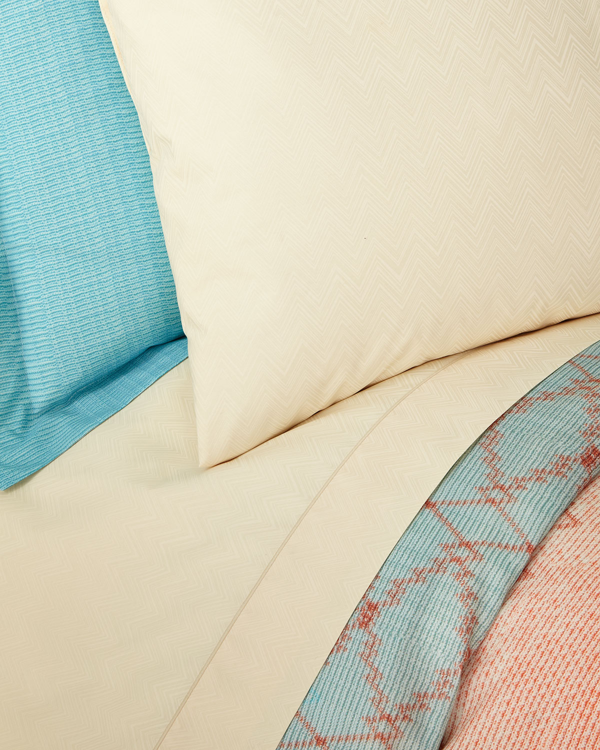 Missoni Home Pair of Jo King Pillowcases