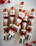 Father Christmas Crackers, Set of 6
