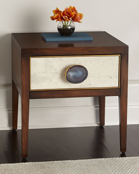 Tiza Single-Drawer Side Table