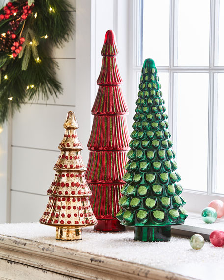 """Mercury """"Gold"""" Dotted Tree"""