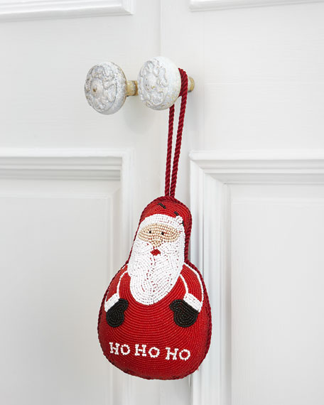 Santa Door Knocker