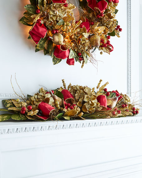 Gold & Glitter Collection Mantelpiece