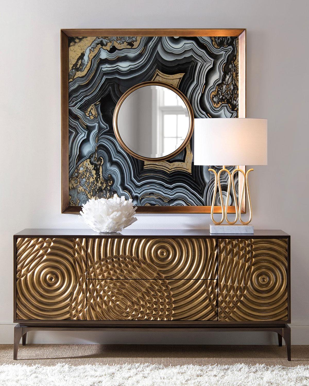 John Richard Collection Golden Swirl Sideboard