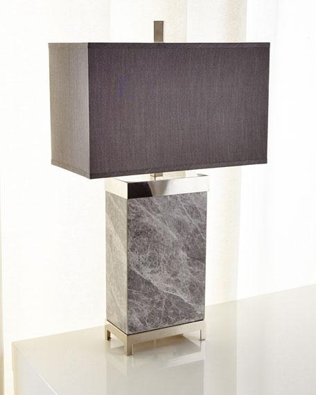 John-Richard Collection Marble Lamp