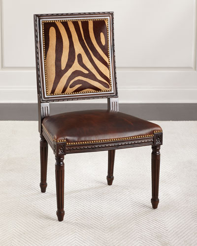 Vega Hairhide Dining Chair