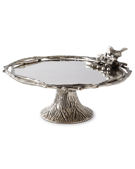 Star Home Designs Birds & Branches Cake Stand