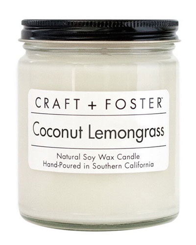 Coconut Lemongrass Candle  8 oz.