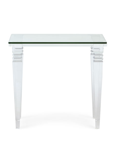 Christelle Acrylic Side Table
