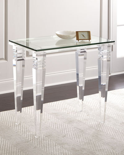 Christelle Acrylic Side Table