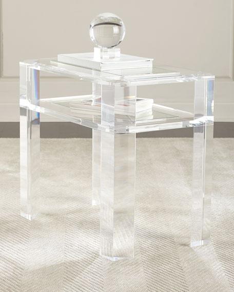 Interlude Home Landis Acrylic Side Table