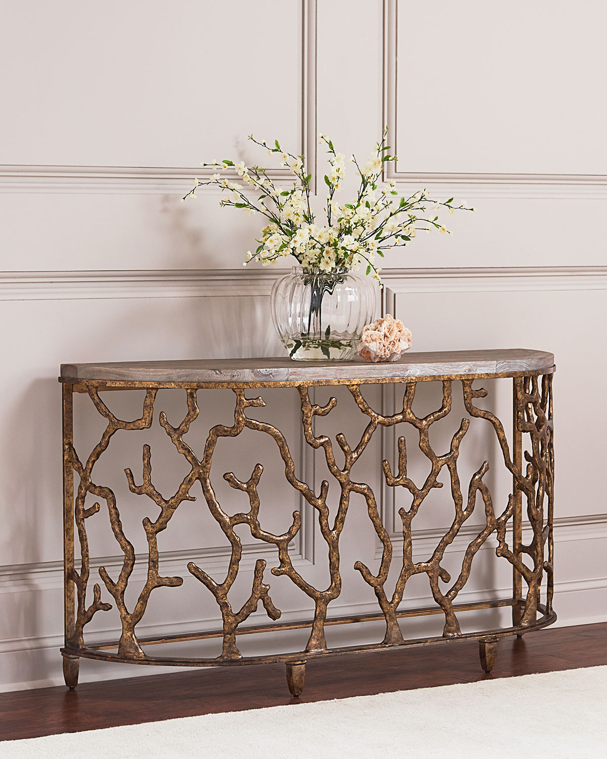 Hooker Furniture Atlantic Golden Console Table