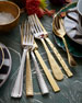 Image 2 of 4: 20-Piece Feather Flatware Service