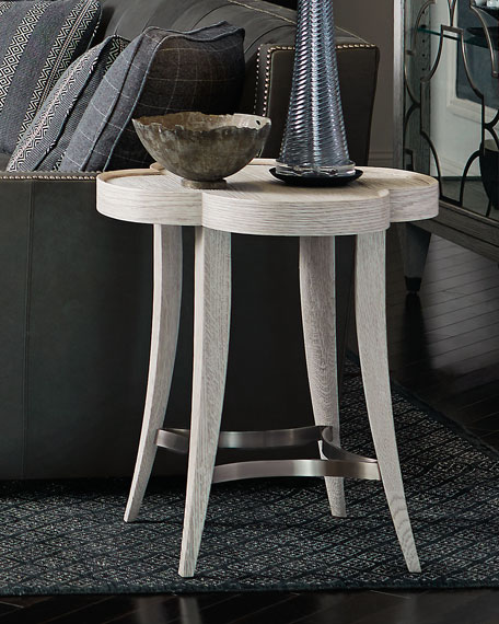Bernhardt Damonica White Oak Side Table