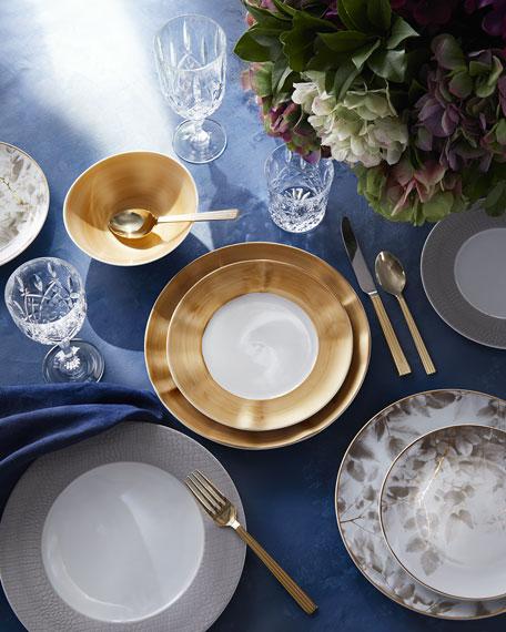 SFERRA Hemstitch Dinner Napkins, Set of 4