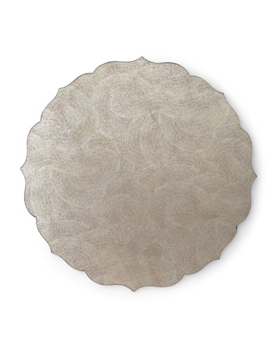 Tangier Placemat, Silver