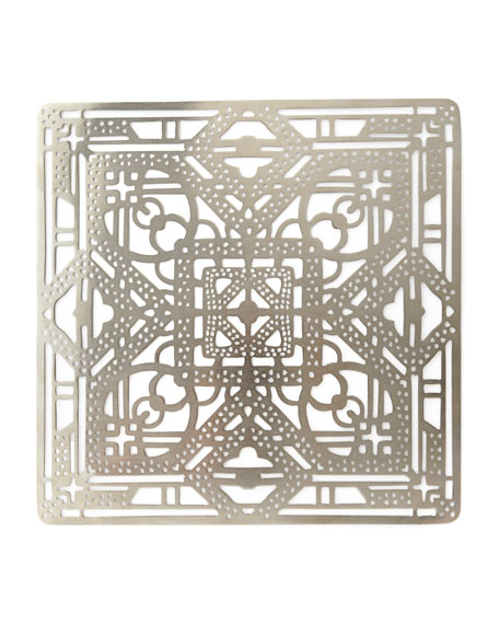 Filigree Placemat, Silver