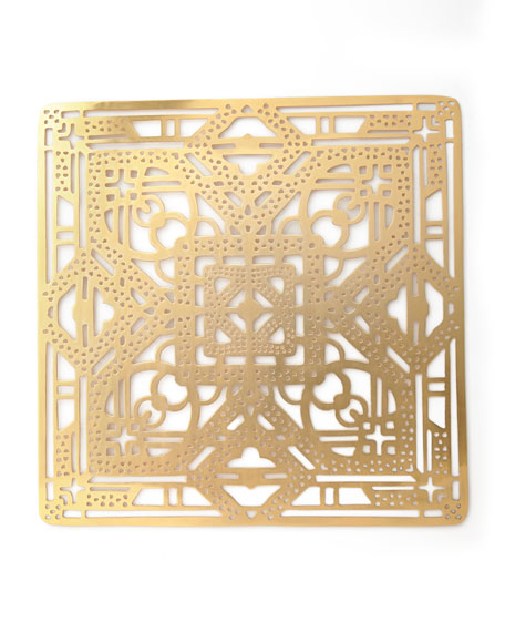 Filigree Placemat, Gold