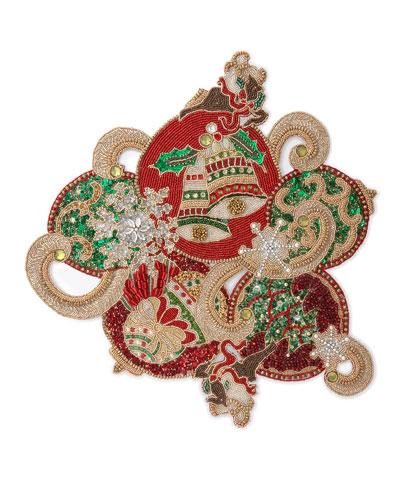 Christmas Baubles Placemat