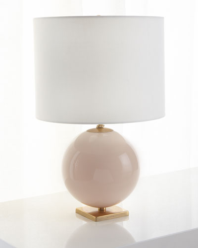 Elsie Reverse Painted Globe Table Lamp