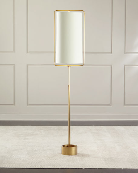 Geo rectangle floor lamp